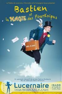 Affiche Bastien Lucernaire juillet 2014 - AYOYE - Web