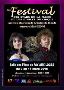 5├иme Festival des Stars de la Magie et des Etoiles du Cirque 2018 - Membres de M.A.M. et Magiciens non membres Page 1-2